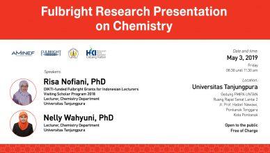 Fulbright presentation of chemistry